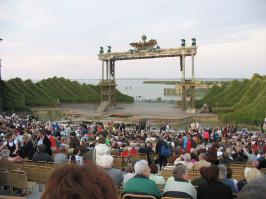Seefestspiele Mörbisch, Zigeunerbaron, Bühnenbild